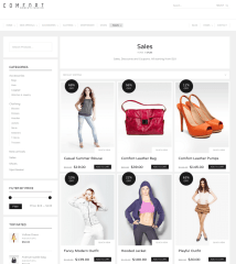 Sale Page – Comfort