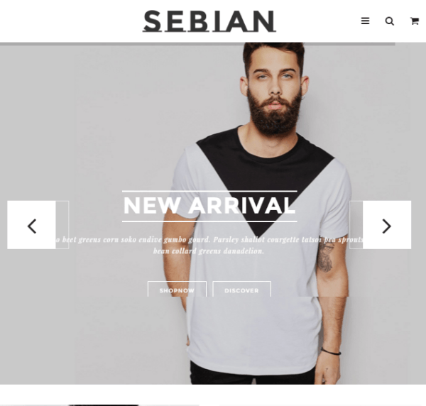 Sebian – Multipurpose Responsive WordPress Ecommerce theme