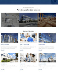 Services Page – Builder