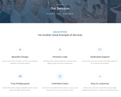 Services Page - Mixed