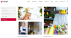Services page of Florist