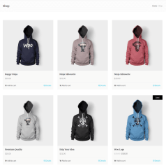 Shop Page – Gordon