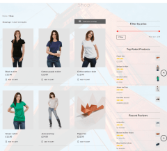 Shop Page Kinetika Theme