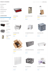 Shop page of FastEx theme
