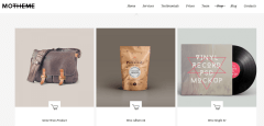 Shop page of MO