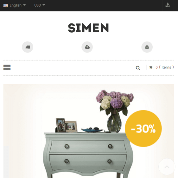 Simen – Multipurpose WooCommerce WP theme