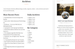 Simplart Archives Page