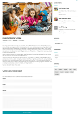 Single Blog Page – Kindergarten