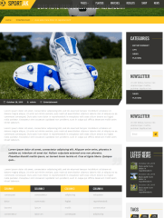 Single Blog Page – Sport