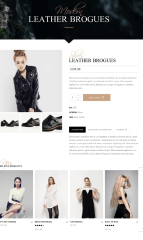 Single Product page – Chandelier
