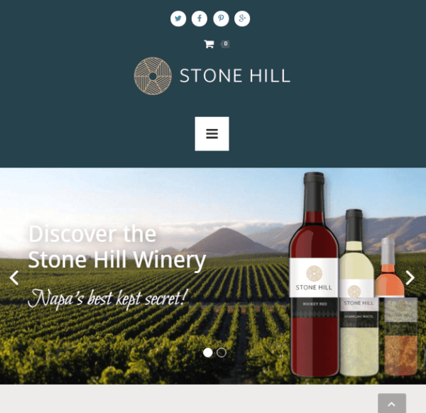 Stone Hill – Restaurant and Cafes WordPress theme