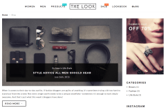 The Look Blog Page