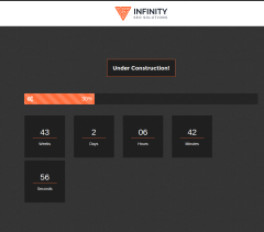 Under Construction Page Page – Infinity