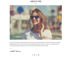Untold Stories About Me Page