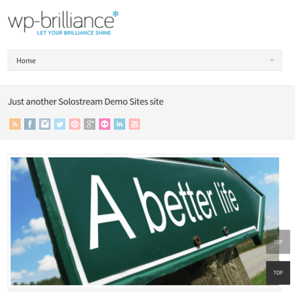 WP-Brilliance Theme