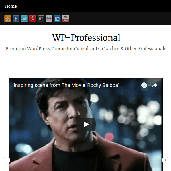 WP-Professional WordPress Theme