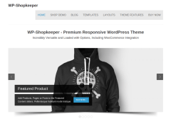 WP-Shopkeepe Home Page