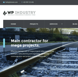 WP industry homepage