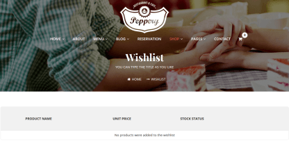 Wishlist page of Pepperry