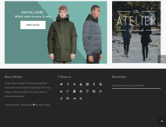 WordPress-theme-Atlier