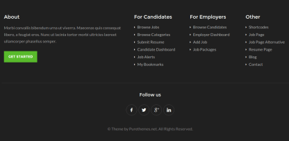 WorkScout Footer