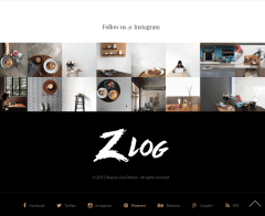 Zlog-WordPress-Footer