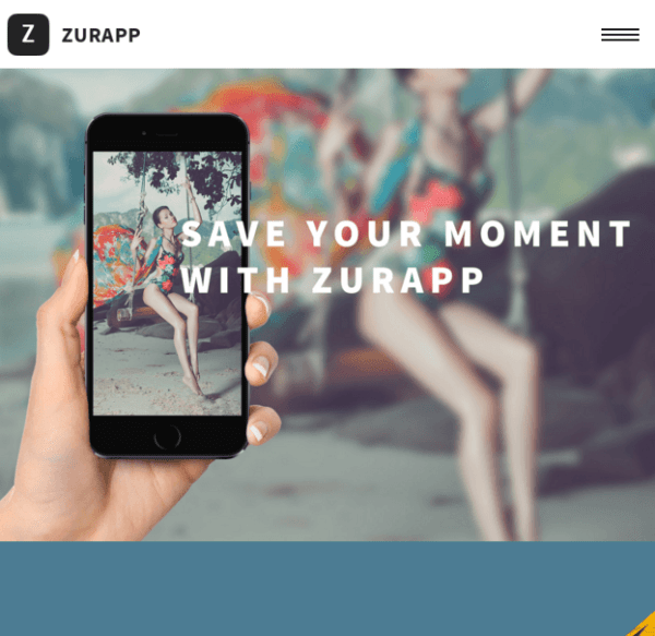 Zurapp – Multiconcept WP theme