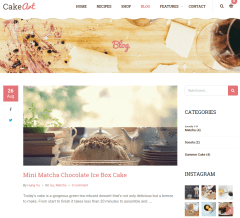 blog page of Cake Art