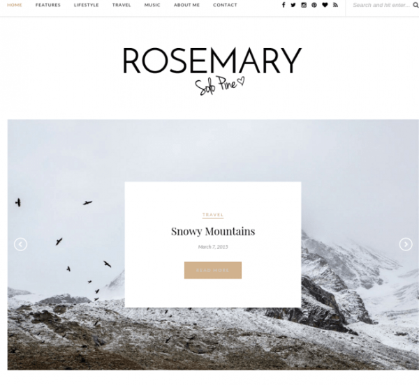 Rosemary-WordPress-theme