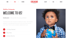 About Page of Child Care