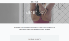 About Us Page of Somnus