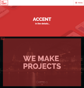 Accent - WP theme for creative people