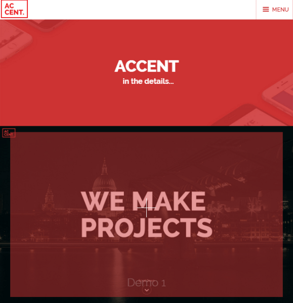 Accent – WP theme for creative people
