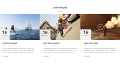 Accent – blog page