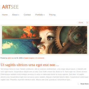 ArtSee WordPress Theme
