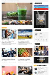 ChillNews – homepage with thumbnail slider
