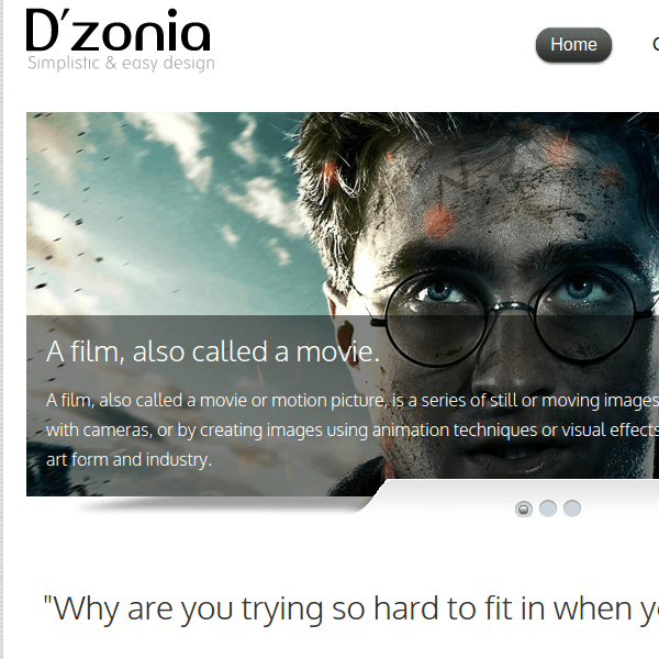 DZONIA – MOBILE PHONE WORDPRESS THEME