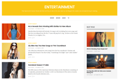 Entertainment Page of GoodLife