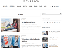 Fashion Page of Maverick