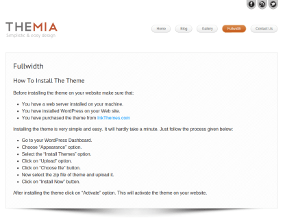 Full Width Page of Themia