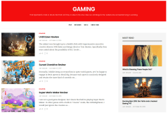 Gaming Page of GoodLife
