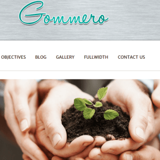 GOMMERO - TRAVEL BLOGGER WORDPRESS THEME