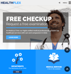 HEALTHFLEX - Medical and Health related WordPress theme