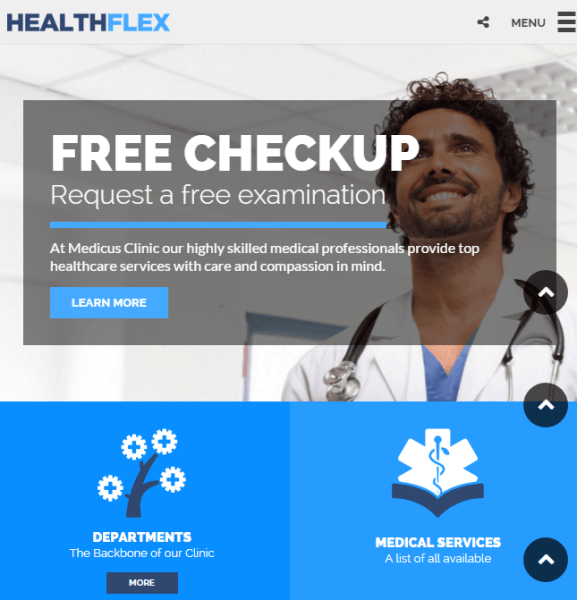 HEALTHFLEX – Medical and Health related WordPress theme