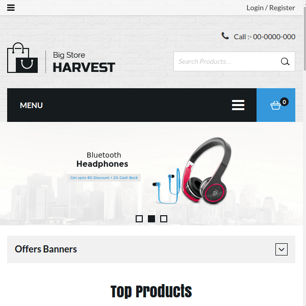 Harvest – Multipurpose WooCommerce Theme