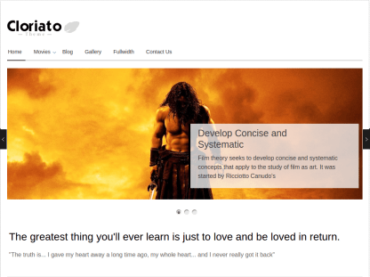 Home Page of Cloriato