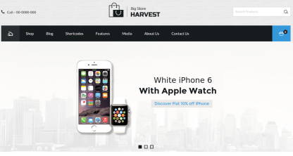 Home Page of Harvest