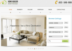 Home Page of HomeBuilder