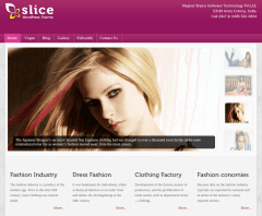 Home Page of Slice