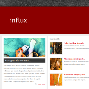 Influx WordPress Theme